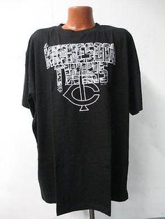 Minnesota Twins Big Mens Majestic 3X-Large Short Sleeve Screened T-Shirt KK 1555