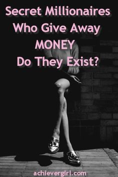 If a secret millionaire gave you money, wouldn't you take it? If one did, that could mean an end to money problems and a beginning to financial freedom. What are the chances for that happening? Dani Johnson, Money Problems, Reality Tv Shows, Business Women, Freedom, Shit Happens, Life, Liberty, Political Freedom