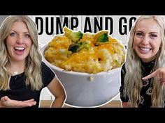 FAST Instant Pot Cheesy Broccoli Chicken and Rice - Dump and Go Recipe - YouTube