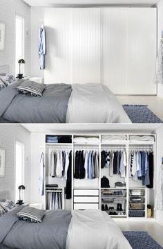 15 idées pour bien diviser l'espace dans son Dressing! Inspirez-vous
