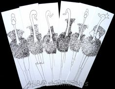 Bookmarks Childrens Books Bird Bookmarks Animal by shelikesthis