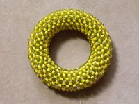 How to Cover a Ring with Right-angle Weave - Daily Blogs - Blogs - Beading Daily