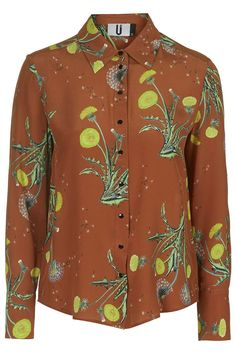 Dandelion Windermere Silk Shirt by Unique from Topshop.