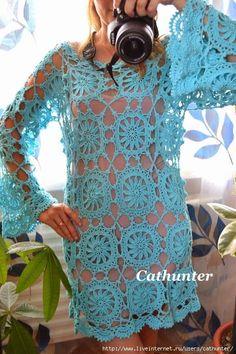 Beau Crochet, Pull Crochet, Knit Crochet, Knitting Patterns, Crochet Patterns, Crochet Motifs, Crochet Woman, Beautiful Crochet, Crochet Designs