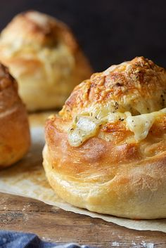 Gruyere-Stuffed Crusty Loaves Recipe