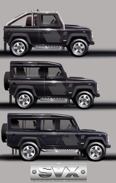 OMG! #LandRover Defender #SVX 65th B'day