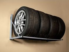 This Folding Tire Loft is a great solution for storing all types of tires in your garage. From seasonal, recreational, ATV, or race tires and wheels. It's un