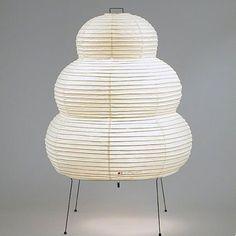 Lampe Akari 24 N en papier washi d'Isamu Noguchi pour Vitra