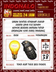 Bolak Balik 4D Togel Wap Online Indonalo Gorontalo 9 Agustus 2017