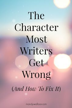 Here's an incredible tool for writers. The Myers-Briggs Type Indicator (MBTI) is a personality tool that savvy writers use to create deeply complex and startlingly realistic characters. Yes, it's a...