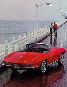 1965 Chevrolet Corvette Stingray.   I really, really, really need this car!!!!!