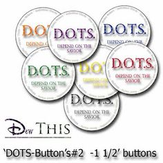 D.O.T.S.- Depend on the Savior I love it!! There are steps WE can follow: D- daily prayer O- obedience T- thoughts/ journaling S- scripture study