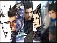 Compilation of Zack Fair by ~Naru-Nisa on deviantART