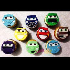 Cupcakes de Cars! 🚘 #carscupcakes