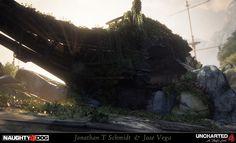 ArtStation - Uncharted 4: A Thief's End, Jonathan T Schmidt & Jose Vega