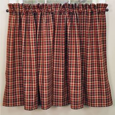 "Abbott Tiers - 36"", provide added privacy or coverage and are the perfect complement to our valances and swags. Total width 72"" x 36"" long. 100% Cotton. Unlined. Dry cleaning recommended to prevent shrinkage. #country #tier #curtains #kitchen"