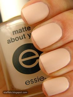 matte topcoat- make any nail polish matte. I WANT THIS