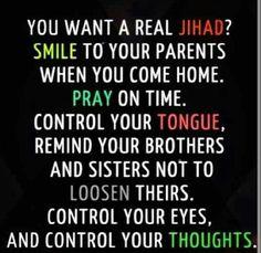 Want a real Jihad?!