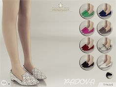 The Sims Resource: Madlen Padova Shoes by MJ95 • Sims 4 Downloads