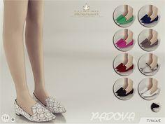 Madlen Padova Shoes by MJ95 at TSR via Sims 4 Updates