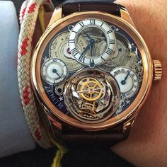 """Zenith Academy Christophe Colomb Hurricane Grand Voyage II  Image from good friend @heartandcrown"""