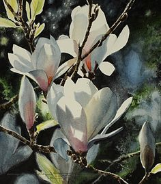 NAOMI TYDEMAN RI - Watercolor