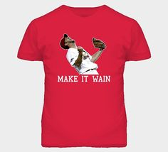 "Adam Wainwright ' Make It Wain "" St. LOUIS Cardinals Shirt on Etsy, $28.00"