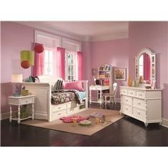 Girls, girls, girls kids-bedrooms