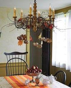 20 best 20 Fall Chandelier Decoration Ideas images on Pinterest ...