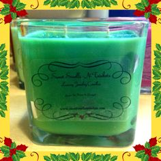 Christmas Tree Jewelry Candle  #SweetSmellsNTrinkets