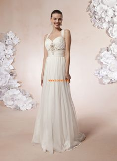 Halster Elegant & Luxe Mouwloos Bruidsmode 2014