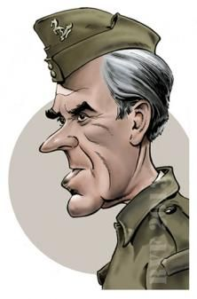 Image result for caricature dad's army