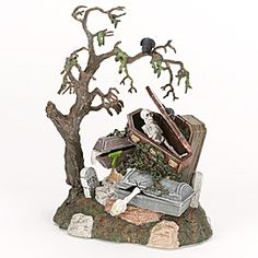 "Department 56: Products - ""Haunted Graveyard"" - View Products"