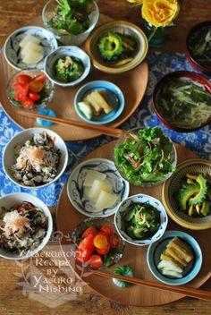 夏野菜小鉢料理