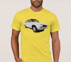 Great Datsun 1600 or 510 from was popular family car all around the world. Get this retro car illustration printed in T-shirts and other items. Retro Cars, Vintage Cars, Datsun 1600, Datsun Bluebird, Japanese Cars, Classic Cars, Mens Tops, T Shirt, Fashion