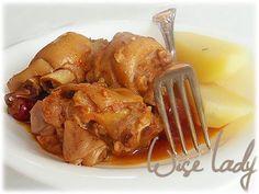 Csulok Porkolt / Pork Heel stew