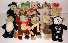 Nice Clean Collection Of 14 Starbucks Bearista Bears- 12 With Tags #Starbucks