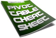 CLICK TO DOWNLOAD THIS FREE CHEAT SHEET| Learn Microsoft Excel Tips + Free Excel Tutorials & Cheat Sheets |  REGISTER FOR OUR FREE EXCEL WEBINARS AT >> http://www.myexcelonline.com/138-23.html