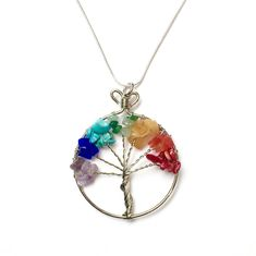 Tree of Life Pendant Necklace Tree Of Life Necklace, Tree Of Life Pendant, Fair Trade Jewelry, Wire Trees, Pendant Necklace, Necklace Chain, Paper Cards, Artisan, Medical Care