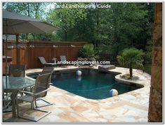 Pin by Jennifer Mageo on pools | Small inground pool ...
