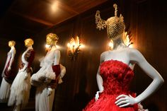 """Alexander McQueen: Savage Beauty"" at the Victoria and Albert Museum. Photo: Anthony Harvey/Getty Images"