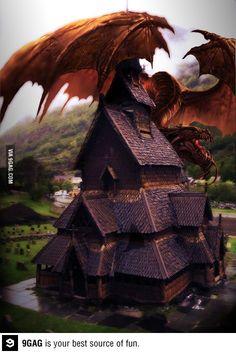 I heard a dragon was missing...