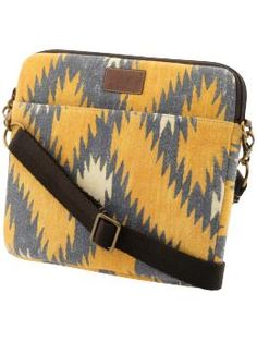 Lucky Brand Navajo weave laptop bag