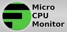 Micro CPU Monitor : Keep an eye on CPU usage