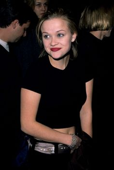 Reese Witherspoon during The People vs Larry Flynt Premiere at Mann Village Theatre in Westwood California United States