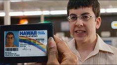 Never fails to make me laugh, no matter how many times I have seen Superbad. Muscle Bear, Comedies On Amazon Prime, Mclovin Superbad, Superbad Movie, Superbad Quotes, Jock, 100 Memes, Daddy, Legal Drinking Age