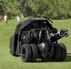 Batman's Golf Cart