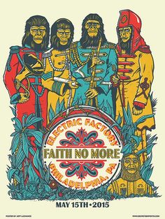Jeff-LaChance-Faith-No-More-Philadelphia-Poster-2015