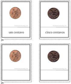 Moedas Brasileiras Cartões