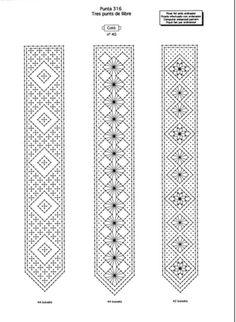 MODÈLE hacher signets de dentelle bracelets. 3 PAGES image 2